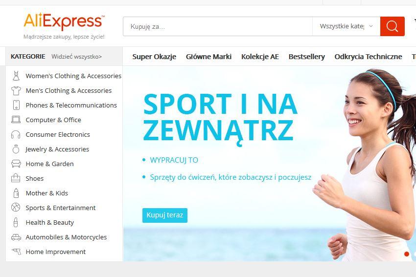 aliexpress po polsku