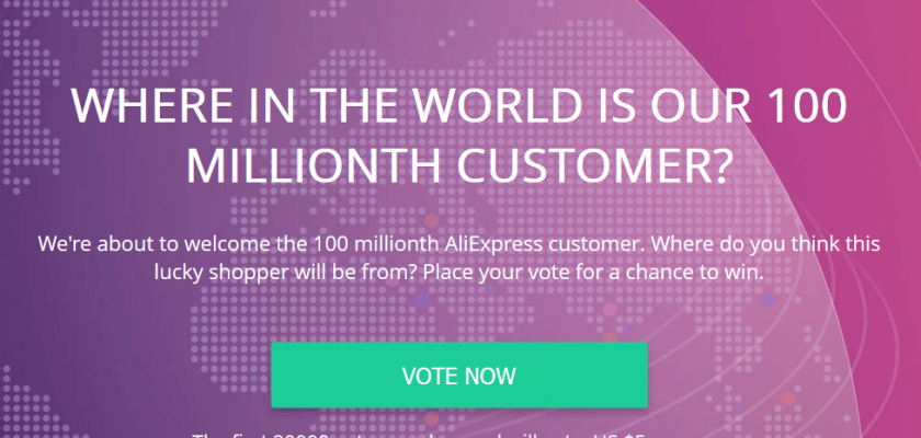 Where in the world is our 100 millionth customer?