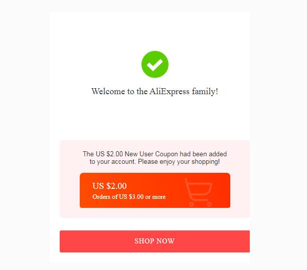 założenie konta aliexpress kupon